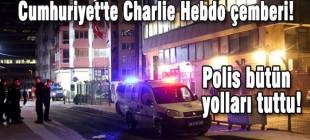 Cumhuriyet'te Charlie Hebdo çemberi!