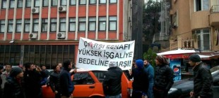 Beşiktaş esnafı ranta karşı yürüdü!