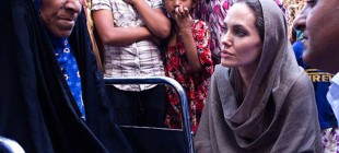 Angelina Jolie Erbil'de!