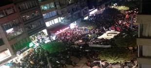 Ali İsmail yürüyüşüne bir müdahalede Kadıköy'de!
