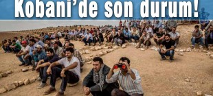 Kobani'de son durum!