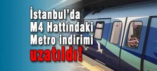 Kadıköy-Maltepe-Kartal Metro hattında indirim uzatıldı