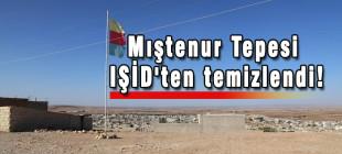 Mıştenur Tepesi IŞİD'ten temizlendi!
