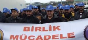 İşten atılan Namet işçileri eylemlerine devam ediyor!