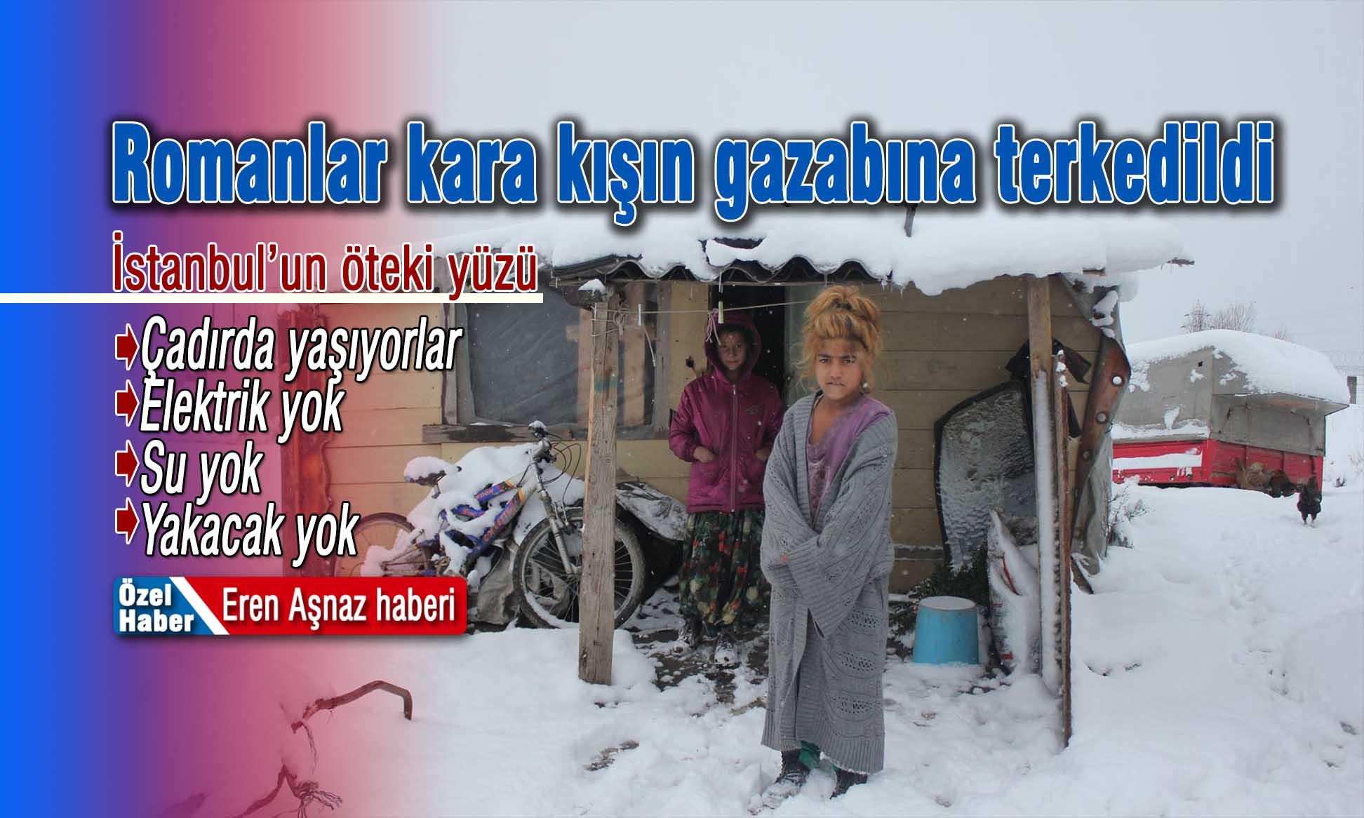 2006 yılında Küçükbakkalköy'de 'Kentsel Dönüşüm' yıkımları sebebiyle evsiz kalan bir çok roman aile yıllardır kendi kurdukları çadırlarda kaderlerine terk edilmiş olarak yaşam mücadelesi veriyor.