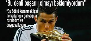 """Cristiano Ronaldo: """"bu denli başarılı olmayı beklemiyordum"""""""