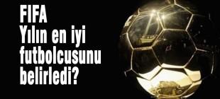 FIFA 2014 yılının en iyi futbolcusunu belirledi
