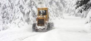 Bir çok yol yoğun kar nedeni ile ulaşıma kapandı!