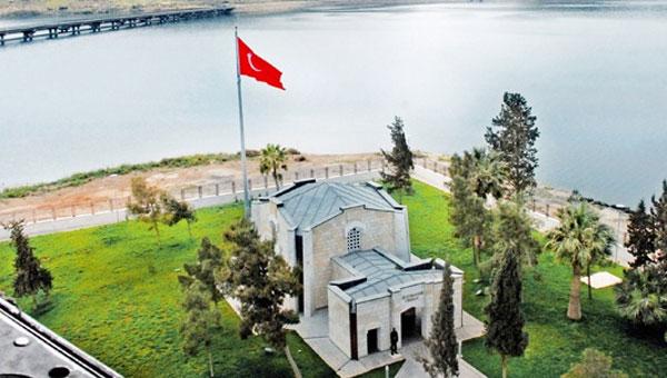 Süleyman Şah Türbesindeki naaşlar Türkiye'ye getirildi