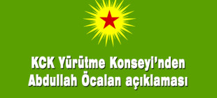 KCK Yürütme Konseyi'nden Abdullah Öcalan açıklaması!