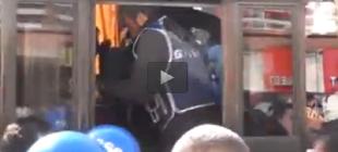 Berkin Elvan protestosuna polis gözaltısı