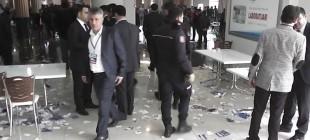 Şanlıurfa'da Ak Partili delegeler birbirine girdi