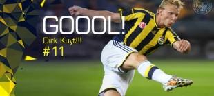 Fenerbahçe 1-0 Galatasaray Dirk Kuyt golü
