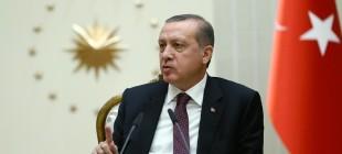 """Erdoğan'dan KKTC Cumhurbaşkanı Mustafa Akıncı'ya """"Ağzından çıkanı kulağı duyması lazım"""""""