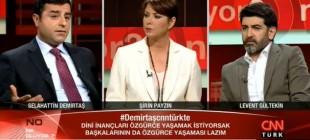 """Selahattin Demirtaş, """"AKP milletvekilleri Allah'tan çok Erdoğan'dan korkuyor"""