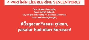 """Özgecan Aslan imza kampanyasında yeni aşama, """"ÖzgecanYasası"""""""