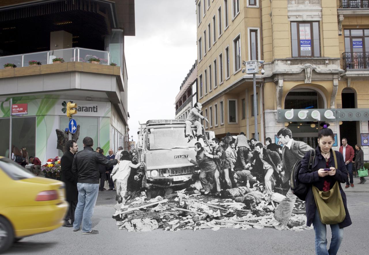 Disk Taksim Meydanı bellek kayması