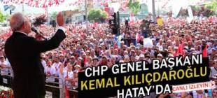 CHP Hatay mitingi
