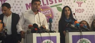 """Demirtaş ve Yüksekdağ'dan açıklama """"Muhteşem bir zafer kazandık"""""""