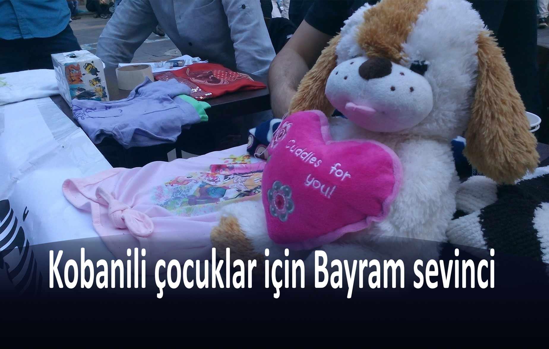 Kobanili çocuklar için bayram kampanyası