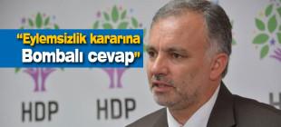 """""""PKK'nin eylemsizlik kararına bombalı cevap"""""""