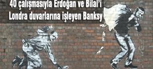40 çalışmasıyla İngiliz grafiti sanatçısı Banksy