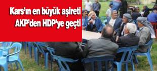 Beto aşireti AKP'den HDP'ye geçti