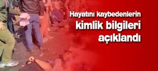 Ankara'da hayatını kaybedenlerin isimleri açıklandı