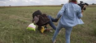 Sığınmacıya çelme atan kameraman: Mağdur oldum