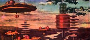 14 örnekle Sovyet sanatçılarından uzaydaki komünist yaşam