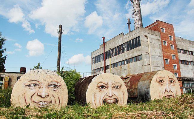 Nikita Nomerz'den 18 çalışmayla şehrin