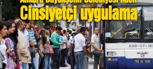 EGO otobüslerinde yeni uygulama: 'Bay-Bayan' öğrenci