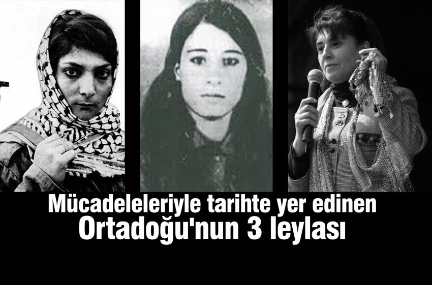 3 leyla, Leyla Zana, Leyla Qasım, Leyla Xalid