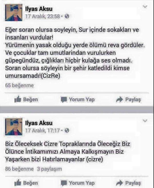 İlyas Aksu, cizre