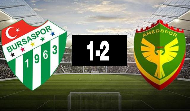 Amedspor, Bursaspor, Ziraat Türkiye Kupası, Amedspor Bursaspor maçı,