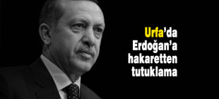 Şanlıurfa'da Erdoğan'a hakaretten bir kişi tutuklandı