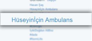 Hüseyinİçin Ambulans bekleyişi devam ediyor