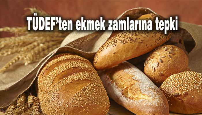 Tüketici Dernekleri, TÜDEF, ekmek zamları, zam, zam haberleri, Hasan Atak,