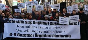 10 Ocak çalışan gazeteciler günü kutlanmadı