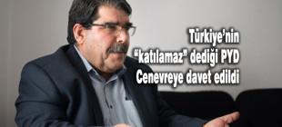 Türkiye'ye rağmen PYD Cenevre'ye davet edildi