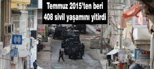 HDP Enformasyon Masası: 408 sivil yaşamını yitirdi
