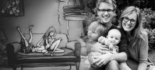 Curtis Wiklund'dan illüstrasyonlarla bir aşkın 365 günü