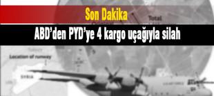 ABD 4 kargo uçağıyla PYD kontrolündeki Rimelan'a  silah bıraktı