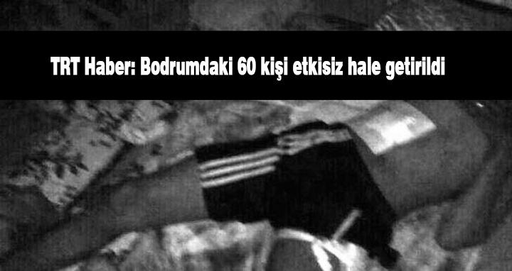 TRT Haber, Cizre, Bodrum katı, Cizrede bodrum katındaki yaralılar,