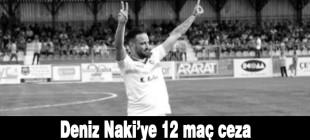 PFDK'dan Amedsporlu Deniz Naki'ye 12 maç ceza