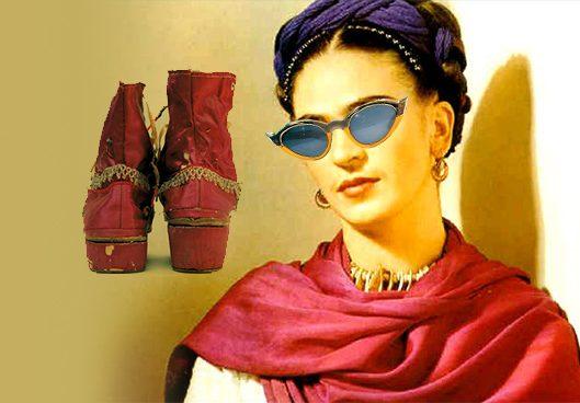 Ölümünden 60 yıl sonra güneş gözlüğünden Kahlo'nun sakat bacağından dolayı giymek zorunda olduğu özel ayakkabılara, kendisinin boyadığı korselerden kül tablasına kadar Frida'ya ait, onu anlatan eşyaları oratya çıkarıldı.