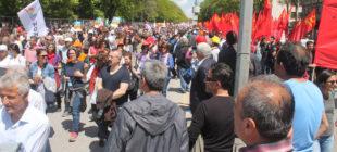 Başkent'te 1 Mayıs coşkusu