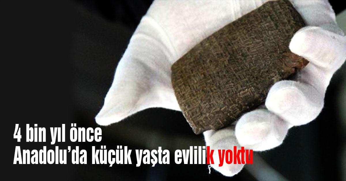 Küçük yaşta evlilik, Anadolu,