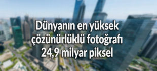 Dünyanın en yüksek çözünürlüklü fotoğrafı