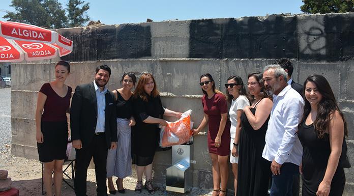 İzmir Barosu'ndan sokak hayvanları için beslenme ünitesi
